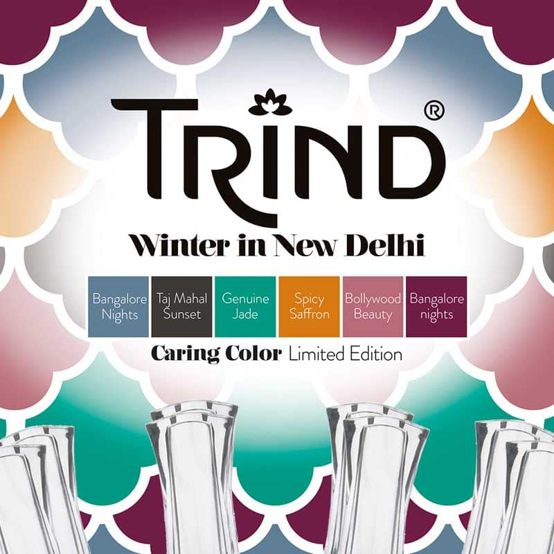 Vernis traitant Trind Caring Color Winter Edition